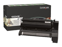Lexmark 0015G041K Return Program Black Laser Toner Cartridge, 6K
