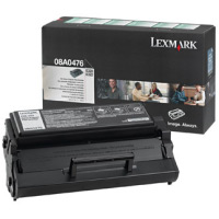 Lexmark 08A0476 Standard Capacity Return Program Toner Cartridge, 3K Yield