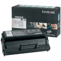 Lexmark 08A0478 High Capacity Return Program Toner Cartridge, 6K Yield