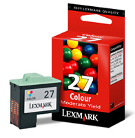 Lexmark No 27 Colour Ink Cartridge