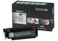 Lexmark 012A4715 High Capacity Return Program Toner Cartridge, 12K Yield