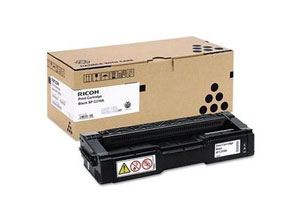 Ricoh SP C310he Black Laser Toner Cartridge, 6.5K Page Yield