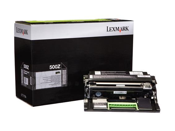 Lexmark 500Z Imaging Unit Return Program Drum Cartridge, 60K Page Yield