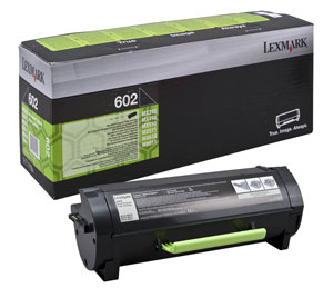 Lexmark 602 Return Program Toner Cartridge, 2.5K Page Yield