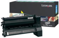 Lexmark C780A1YG Return Program Yellow Toner Cartridge, 6K Page Yield