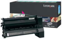 Lexmark C782X1MG Return Program Magenta Toner Cartridge, 15K Page Yield