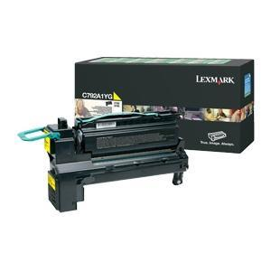 Lexmark C792A1YG Yellow (Return Program) Toner Cartridge, 6K Page Yield