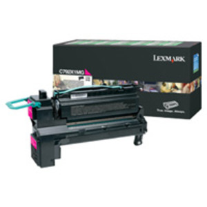 Lexmark C792X1MG Magenta (Return Program) Toner Cartridge, 20K Page Yield
