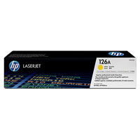 HP CE312A Yellow (126A) Toner Cartridge - CE 312A