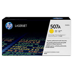 HP CE402A Yellow (507A) Toner Cartridge - CE 402A