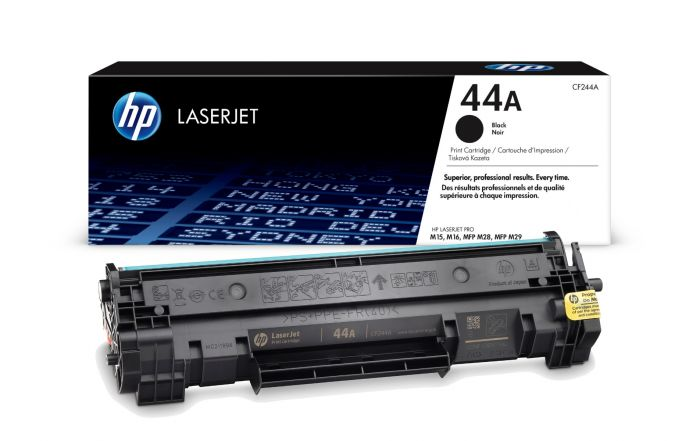 HP 44A Standard Capacity Black Toner Cartridge - CF244A