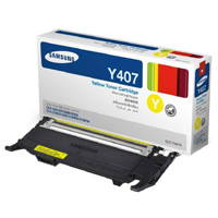 Samsung CLT Y4072S Yellow Toner Cartridge, 1K Page Yield