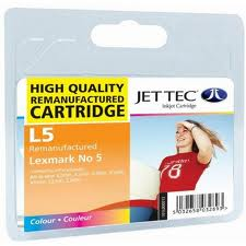 Jettec Replacement Colour Ink Cartridge (Alternative to Lexmark No 5, 18C1960E)