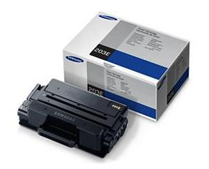 Samsung MLT D203E Extra High Capacity Black Toner Cartridge, 10K Page Yield