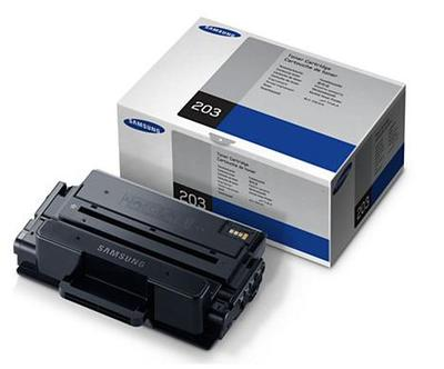 Samsung MLT D203S Black Toner Cartridge, 3K Page Yield