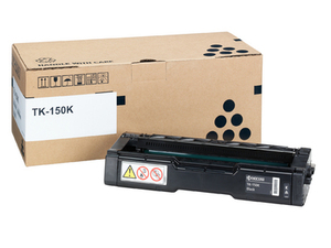 Kyocera Black Kyocera TK-150K Toner Cartridge (1T05JK0NL0 Printer Cartridge)
