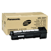 Panasonic Black Laser Toner Cartridge, 6K Page Yield