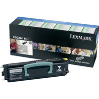 Lexmark 0X203A11G Return Program Toner Cartridge, 2.5K Yield