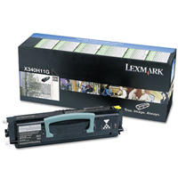 Lexmark 0X340H11G Return Program Toner Cartridge, 6K Yield