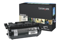 Lexmark 0X644X11E Extra High Capacity Return Program Toner Cartridge, 32K Page Yield