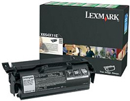Lexmark 0X651X11E Extra High Capacity Return Program Toner Cartridge, 36K Yield