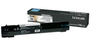 Lexmark 0X950X2KG Black Toner Cartridge, 38K Page Yield