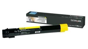 Lexmark 0X950X2YG Yellow Toner Cartridge, 24K Page Yield