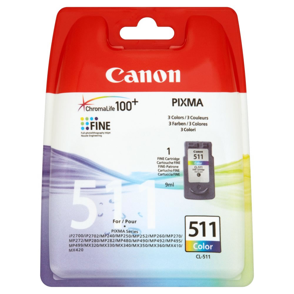 Canon CL 511 Colour Ink Cartridge ( 511 Color )