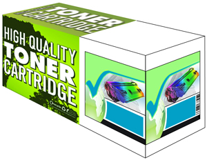 Tru Image Cyan Compatible HP 507A Toner Cartridge (CE401A) Printer Cartridge