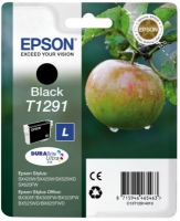 Epson T1291 DuraBrite Ultra Apple High Capacity Black Ink Cartridge