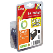 Inkrite Premium Quality High Capacity Black Ink Cartridge (Alternative to Dell M4640)