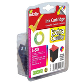 Inkrite Premium Quality Colour Ink Cartridge (Alternative to Lexmark No 80, 12A1980E)
