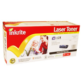 Inkrite Premium Quality Compatible High Capacity Laser Cartridge for HP Q2612A