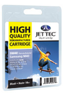 Jet Tec M40 Replacement Black Ink Cartridge (Alternative to Samsung INK M40)