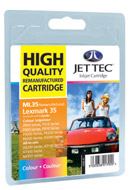 Jet Tec Replacement Colour Ink Cartridge (Alternative to Lexmark No 29)