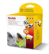 Kodak Multi Pack No 10 Pigment Black and Colour Ink Cartridges - 394-9948