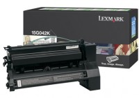 Lexmark 0015G042K High Capacity Return Program Black Laser Toner Cartridge
