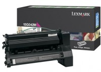 Lexmark 0015G042M High Capacity Return Program Magenta Laser Toner Cartridge
