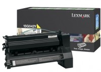Lexmark 0015G042Y High Capacity Return Program Yellow Laser Toner Cartridge