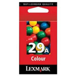 Lexmark No 29A Colour Ink Cartridge - 018C1529E