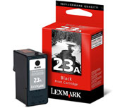 Lexmark 23A Black Ink Cartridge - 018C1623E