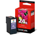 Lexmark 24A Colour Ink Cartridge - 018C1624E