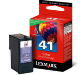 Lexmark 41 Return Program Colour Ink Cartridge - 018Y0141E