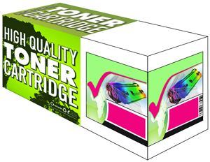 Tru Image Magenta Compatible HP 507A Toner Cartridge (CE403A) Printer Cartridge