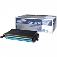 Samsung CLP C660B High Capacity Cyan Toner Cartridge