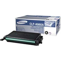 Samsung CLP K660A Black Laser Toner Cartridge