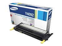 Samsung CLT Y4092S Yellow Laser Toner Cartridge, 1K Page Yield