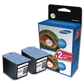 Samsung Twin Pack Ink M40 Black Ink Cartridges