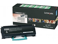 Lexmark 0X463H11G High Capacity Return Program Toner Cartridge, 9K Yield